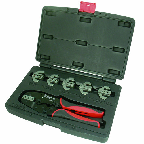 Astro Pneumatic 9477 7-Piece Pro Ratchet Crimp Tool Set