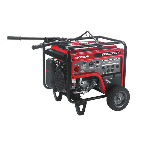 Honda EB5000 5,000 Watt Industrial Portable Generator with iAVR Technology