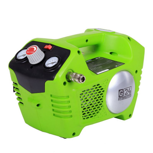 Greenworks G-24 24V Cordless Lithium-Ion 1/2 Gallon Air Compressor