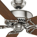 Casablanca 59511 54 in. Traditional Panama DC Brushed Nickel Walnut Indoor Ceiling Fan image number 5