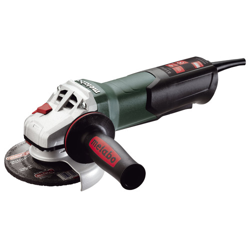 Metabo WP9-125 Quick 8.5 Amp 5 in. Angle Grinder with Non-Locking Paddle Switch
