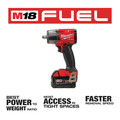 Milwaukee 2962-22 M18 FUEL Lithium-Ion Brushless Mid-Torque 1/2 in. Cordless Impact Wrench Kit with Friction Ring (5 Ah) image number 2