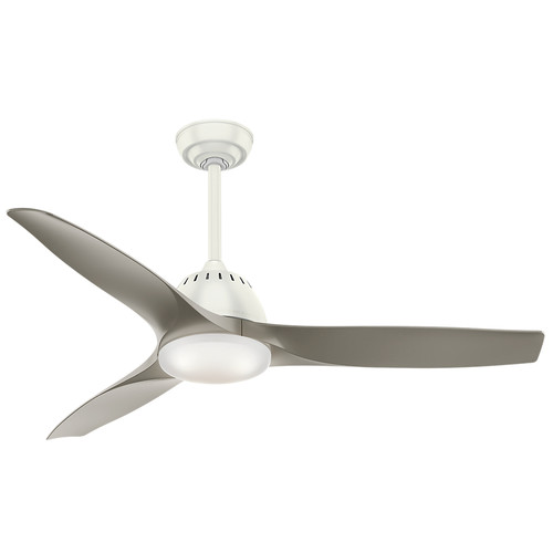 Casablanca 59151 Wisp 52 in. Fresh White Indoor Ceiling Fan with Light and Remote