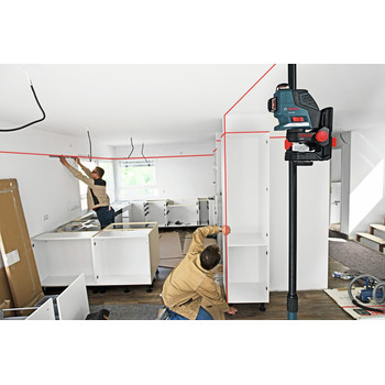 Factory Reconditioned Bosch GLL3-80-RT 360 Degree 3-Plane Leveling and Alignment Line Laser image number 7