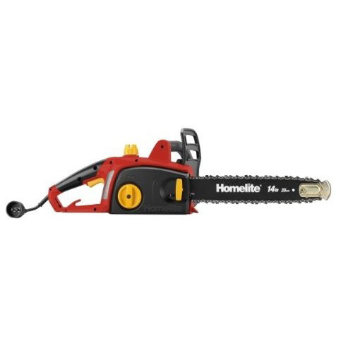 Factory reconditioned homelite zr43100 90 amp 14 in electric chain saw greentooth Choice Image