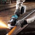 Makita GAG01Z 40V Max XGT Brushless Lithium-Ion 4-1/2 in./5 in. Cordless Cut-Off/Angle Grinder with Electric Brake (Tool Only) image number 2