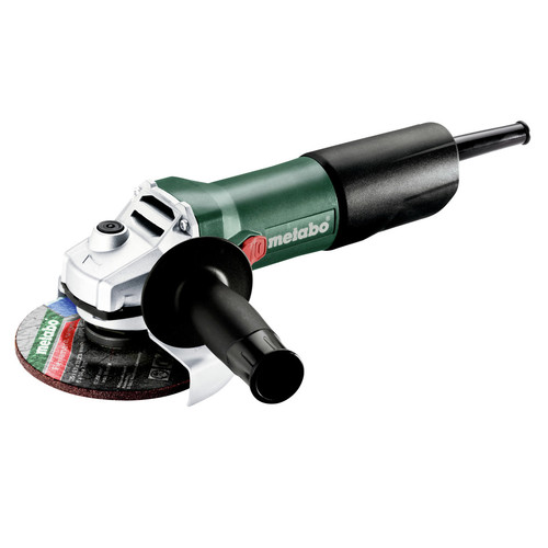 Compact Corded Small Angle Grinder with Sliding Lock-On Switch 7 Amp 4.5 in