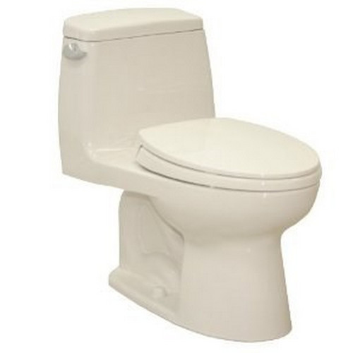 TOTO MS854114E#12 Eco UltraMax Elongated 1-Piece Floor Mount Toilet (Sedona Beige)