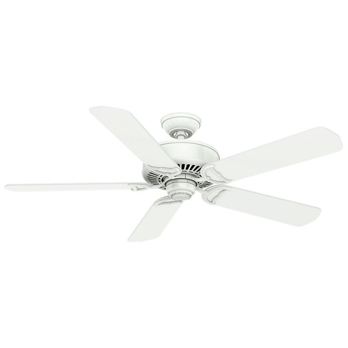 Casablanca 59510 54 in. Traditional Panama DC Snow White Indoor Ceiling Fan