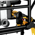 Dewalt DWE7491RS 10 in. 15 Amp  Site-Pro Compact Jobsite Table Saw with Rolling Stand image number 9