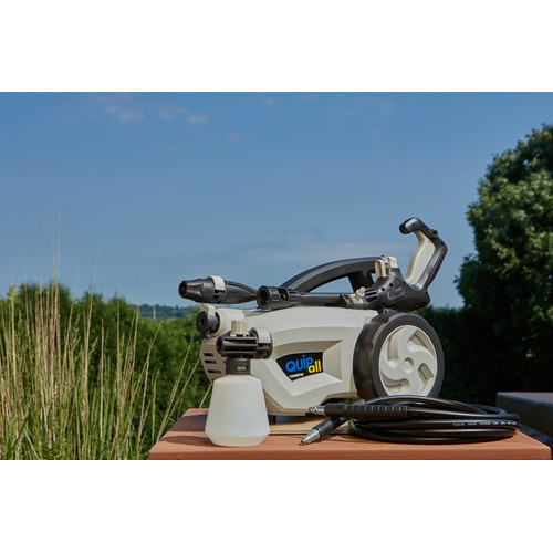 Quipall 1500EPW 1500 PSI 11 Amp 1.5 GPM Electric Pressure Washer With Convenient Multi-Nozzle image number 7