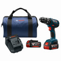 Bosch HDS181A-01 18V 4.0 Ah Cordless Lithium-Ion 1/2 in. Hammer Drill Driver Kit