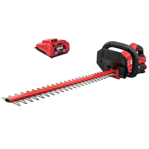 Skil HT4221-10 PWRCore 40 40V Brushless Lithium-Ion 24 in. Cordless Hedge Trimmer Kit (2.5 Ah) image number 0