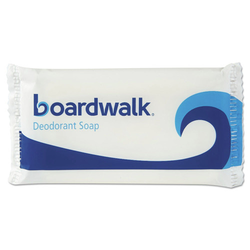 Boardwalk BWKNO15SOAP Face And Body Soap, Flow Wrapped, Floral Fragrance, # 1 1/2 Bar, 500/carton image number 0