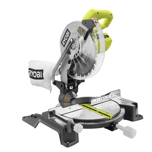 Factory Reconditioned Ryobi ZRTS1345L 10 in. Compound Miter Saw with Laser Line image number 0