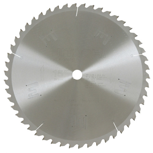Hitachi 974651Z 15 in. 80-Tooth Combination Circular Saw Blade