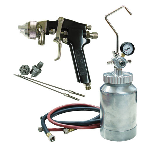 ATD 16843 2 Qt. Pressure Pot Spray Gun and Hose Kit