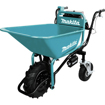 Makita XUC01PTX1 18V X2 LXT Brushless Cordless Power-Assisted Hand Truck/Wheelbarrow Kit with Bucket (5.0Ah) image number 2