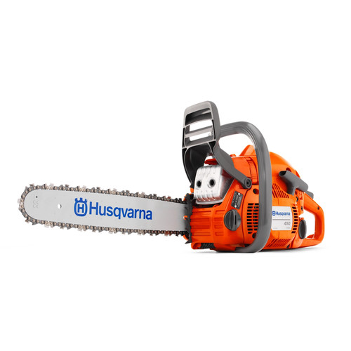 Factory Reconditioned Husqvarna 450 Rancher 50.2cc Gas 18 in. Rear Handle Chainsaw (Class B)