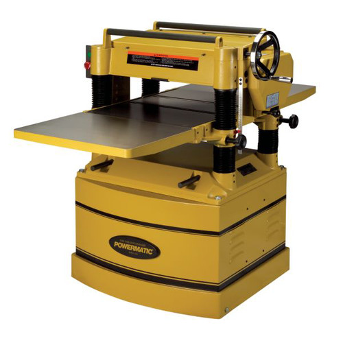 Powermatic 209HH-3 20 in. 3-Phase 5-Horsepower 230/460V Planer with Byrd Shelix Cutterhead image number 0