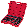 Sunex 3351 51-Piece 3/8 in. Drive 6-Point Metric Impact Socket Master Set image number 1