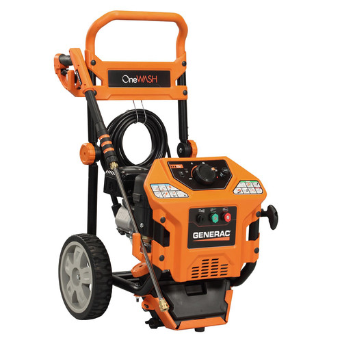 Factory Reconditioned Generac 6436R Onewash 3,000 PSI 2.8 GPM Gas Pressure Washer image number 0