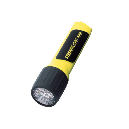 Streamlight 68202 4AA LED ProPolymer Alkaline Battery-Powered Flashlight (Yellow) image number 0