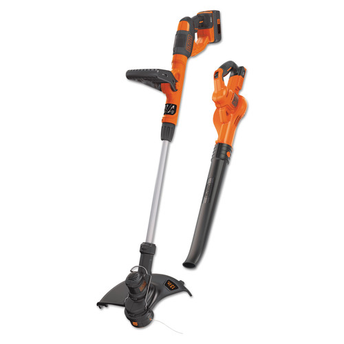 Black & Decker LCC340C 40V MAX String Trimmer/Edger and Sweeper Combo Kit