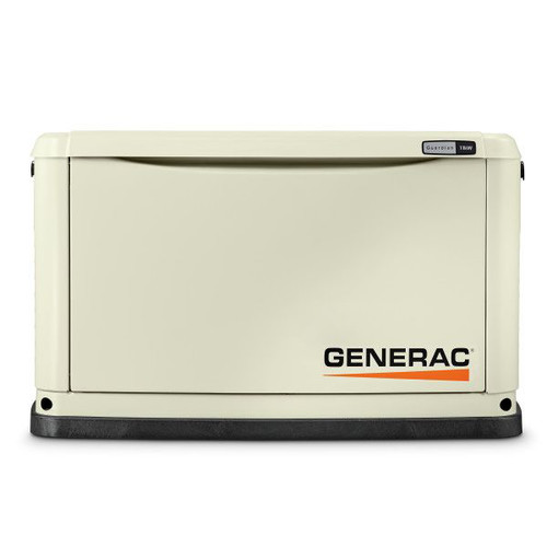Generac 70331 Guardian Series 11/10 KW Air-Cooled Standby Generator with Wi-Fi, Aluminum Enclosure, 200SE (not CUL)