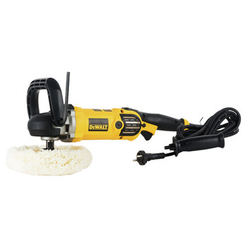 Dewalt DWP849X 7 in. / 9 in. Variable Speed Polisher with Soft Start image number 2