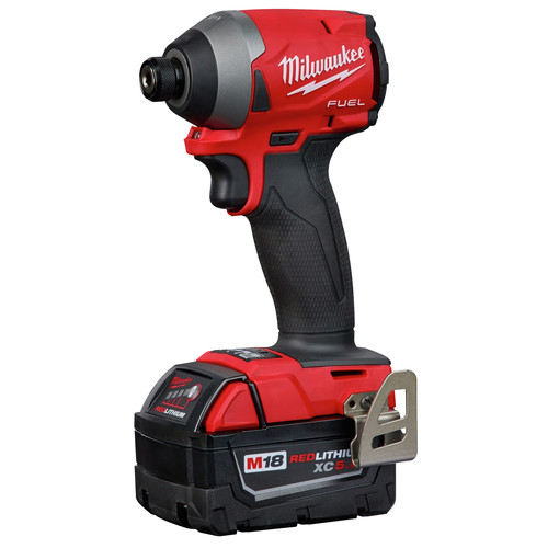 Factory Reconditioned Milwaukee 2997-82 M18 FUEL 2-Tool Hammer Drill/Impact Driver Combo Kit image number 2