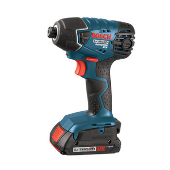 Bosch 25618-02 18V Lithium-Ion 1/4 in. Impact Driver with SlimPack Batteries