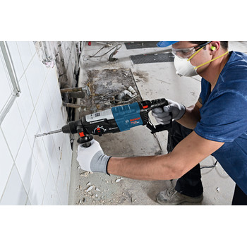 Factory Reconditioned Bosch GBH2-28L-RT 8.5 Amp 1-1/8 in. SDS-Plus Bulldog Xtreme MAX Rotary Hammer image number 4