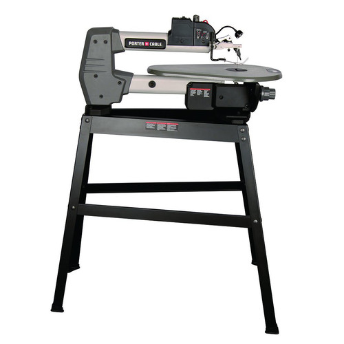 Porter cable pcb375ss 16 amp 18 in variable speed scroll saw with porter cable pcb375ss 16 amp 18 in variable speed scroll saw with stand greentooth Choice Image