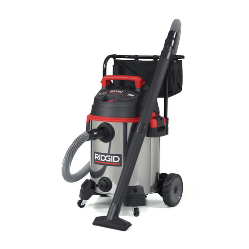 Ridgid 1610RV Pro Series 12 Amp 6.5 Peak HP 16 Gallon Stainless Steel Wet/Dry Vac