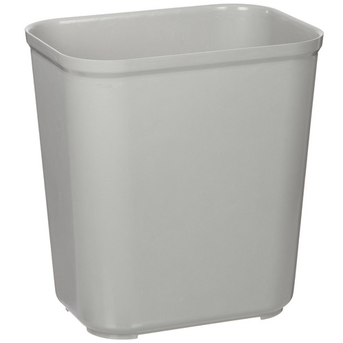 Rubbermaid 2543GRA 7 Gal. Fire-Resistant Wastebasket (Gray)