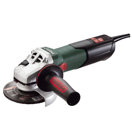 Metabo WEV15-125 HT 13.5 Amp 5 in. Angle Grinder with VTC Electronics and Lock-On Switch