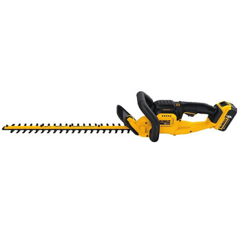 Dewalt DCHT820P1 20V MAX 5.0 Ah Cordless Lithium-Ion 22 in. Hedge Trimmer image number 1