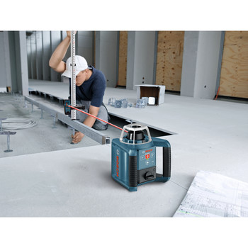 Bosch GRL300HV Self-Leveling Rotary Laser with Layout Beam image number 5