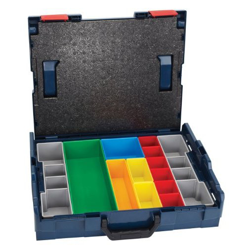 Bosch L-BOXX1A 4 in. Storage Case with 13-Piece Insert Set