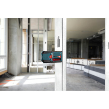 Bosch LR6 Line Laser Receiver with LED Indicator and AAA Batteries image number 6
