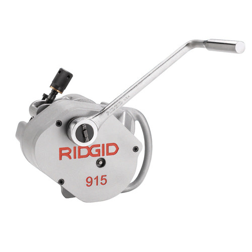 Ridgid 915 In-Place Roll Groover with 2 - 6 in. Schedule 10 Roll Set