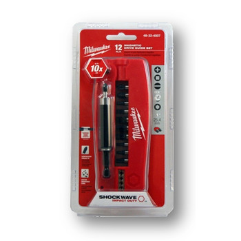Milwaukee 48-32-4507 12-Piece Shockwave Drive Guide Set image number 2