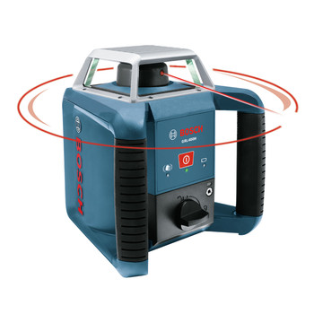 Factory Reconditioned Bosch GRL400H-RT Self-Leveling Exterior Rotary Laser image number 2