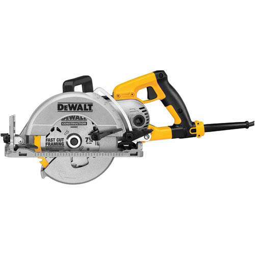 Dewalt DWS535T 7-1/4 in. Worm Drive Circular Saw with Twistlock Plug