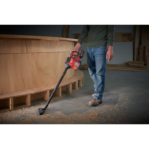 Milwaukee 0882-20 M18 18V Cordless Lithium-Ion Compact Vacuum (Tool Only) image number 4