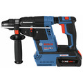 Bosch GBH18V-26K24GDE 18V EC Brushless 1 in. SDS-plus Bulldog Rotary Hammer Kit with (2) CORE18V 6.3 Ah Batteries and Dust-Collection Attachment image number 2