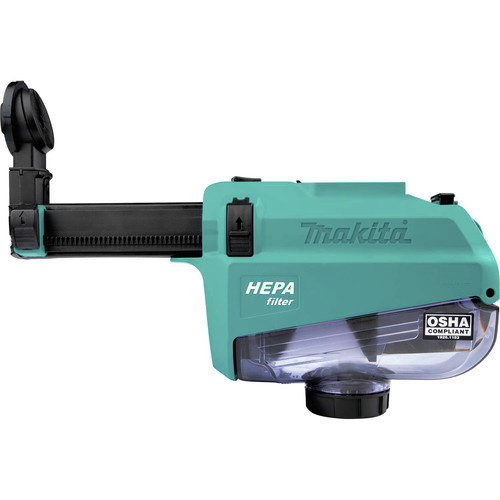 Makita DX05 Dust Extractor Attachment with HEPA Filter for XRH12 image number 0