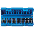 Grey Pneumatic 9712UM 12-Piece 1/4 in. Surface Drive 6s-Point Metric Standard Universal Impact Socket Set image number 1