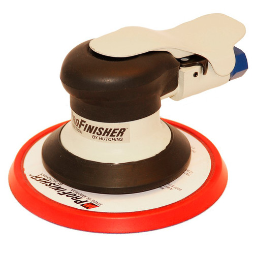 Hutchins 500-H ProFinisher 3/32 in. Air Random Orbit Sander with 6 in. Velcro Pad image number 0